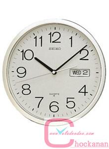 นาฬิกาแขวน SEIKO รุ่น qxl001st ขนาด 12 นิ้ว  แสดง สัปดาห์,วันที่ *