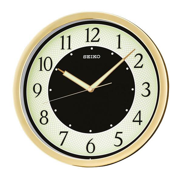 นาฬิกาแขวน SEIKO รุ่น QXA472G เรืองแสงในที่มืด เครื่องเดินเรียบ ขนาด 12 นิ้ว