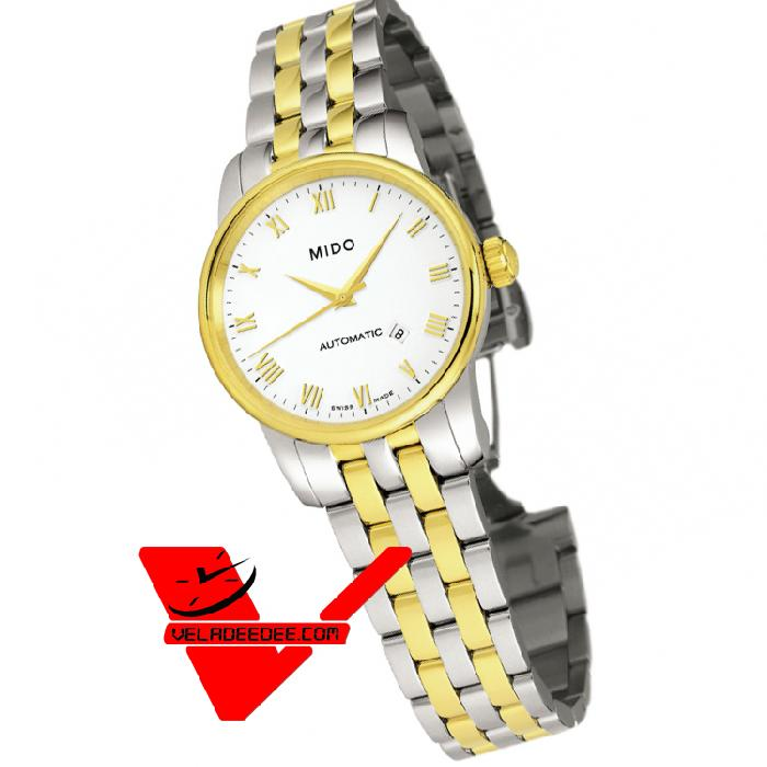 MIDO Baroncelli Ladies ประกันศูนย์ไทยศรีทองพาณิชย์ 2 ปี Automatic Watch รุ่น M7600.9.26.1