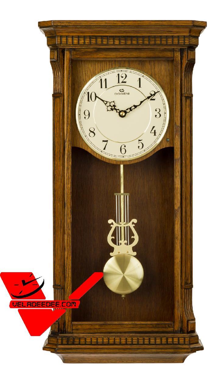 นาฬิกา แขวน DOGENI ตัวเรือนไม้แท้ รุ่น WCW004DB (ตัวนี้เสียงเพราะมากครับตีดัง ใส ชัดเจน)